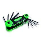 Stiftschlüsselsatz TORX TOPTUL 7 Stück (T6, T8, T9, T10, T15, T20, T25)