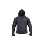 Textiljacke ADRENALINE SOFT SHELL mit Protektoren  schwarz Größe XL
