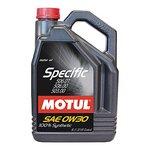 Motoröl MOTUL Specific 0W30, 5 Liter