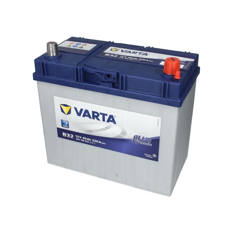 Autobaterie VARTA Blue Dynamic 12V 45Ah 330A, 545 156 033