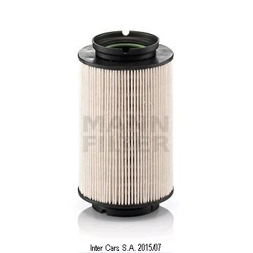 Teilebild Kraftstofffilter MANN FILTER PU 936/2 x
