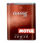 Motoröl mineralisch MOTUL Classic Oil 20W50, 2 Liter