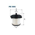 Kraftstofffilter FILTRON PE995
