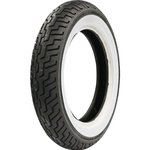 Motorradreifen Dunlop MT90 B 16 D402 vorne Reifen mit breitem weißen Rand