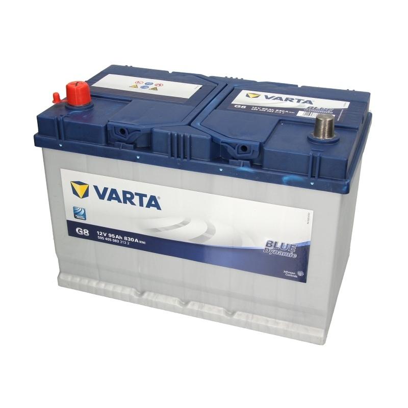 Autobaterie VARTA Blue Dynamic 12V 95Ah 830A, 595 405 083