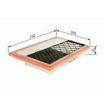 Luftfilter BOSCH F 026 400 388