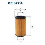 Ölfilter FILTRON OE677/4