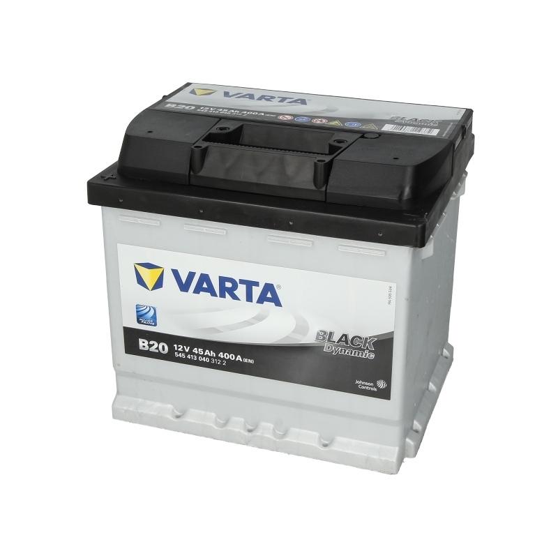 Autobaterie VARTA Black Dynamic 12V 45Ah 400A, 545 413 040
