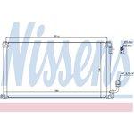 Kondenzátor, klimatizace NISSENS NIS 94599
