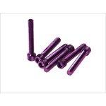 6-kantschraube M8x50 violett