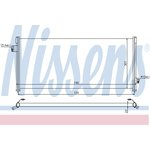Kondenzátor, klimatizace NISSENS NIS 94509