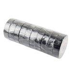 Lepicí páska(izol. PCV 0.13 mm x 15 mm x 10 m, černá, - vysoká kvalita), sada = 10ks