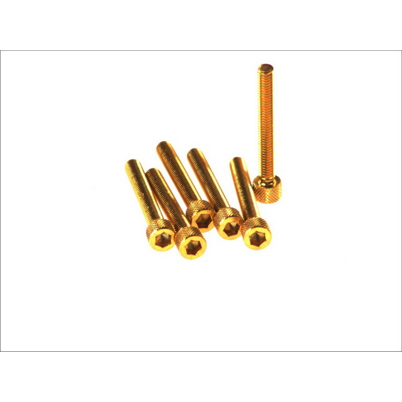 6-kantschraube M6x45 gold