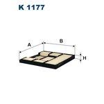 Innenraumfilter FILTRON K1177