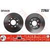 Bremsscheibe, 1 Stück TRW DF4439