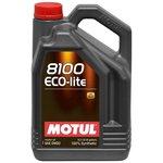 Motoröl MOTUL 8103 Ecolite 0W20, 5 Liter