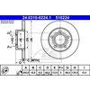 Bremsscheibe, 1 Stück ATE Power Disc hinten 24.0310-0224.1