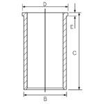 Zylinderlaufbuchse GOETZE 14-021160-00
