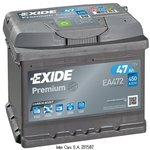 Akumulator EXIDE EA472 WYP