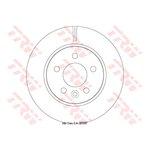 Bremsscheibe 1 Stück TRW DF6482