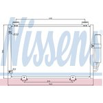 Klimakühler, Klimaanlage NISSENS NIS 94581