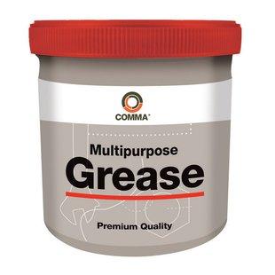 Lagerfett COMMA Multipurpose Grease mit Lithium NLGI-2, 500g