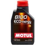 Motoröl MOTUL 8100 Eco-nergy 0W30, 5 Liter