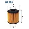 Ölfilter FILTRON OE655