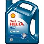 Motoröl SHELL Helix HX7 10W40, 4 Liter Diesel