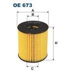 Ölfilter FILTRON OE673