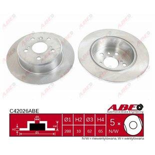 Bremsscheibe ABE C42026ABE, 1 Stück