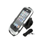 Interphone Lenkradhalterung MOTO HOLDER IPHONE 5 FOR TUBULAR HANDLEBAR Silber