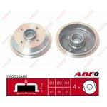 Bremstrommel, 1 Stück ABE C6G010ABE