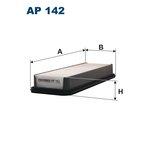 Luftfilter FILTRON AP142