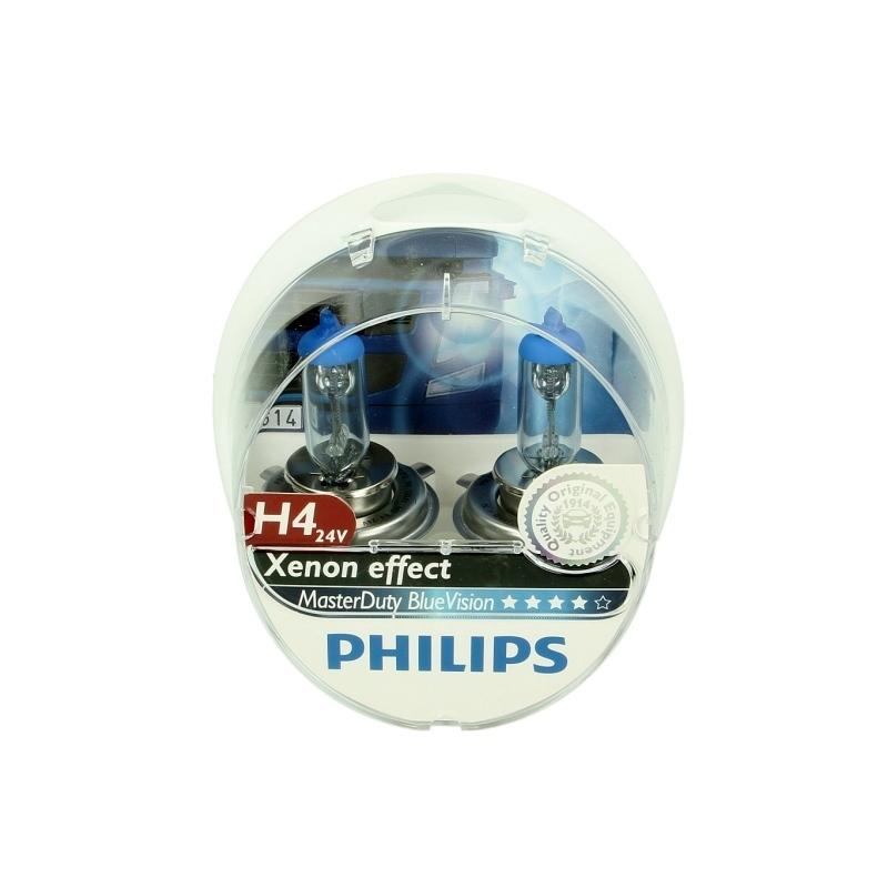 Glühlampe PHILIPS H4 (24V 75/70W) MasterDuty Bl...