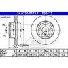 Bremsscheibe, 1 Stück ATE Power Disc BMW E60 523 vorne 24.0330-0173.1