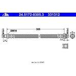 Bremsschlauch ATE 24.5172-0305.3