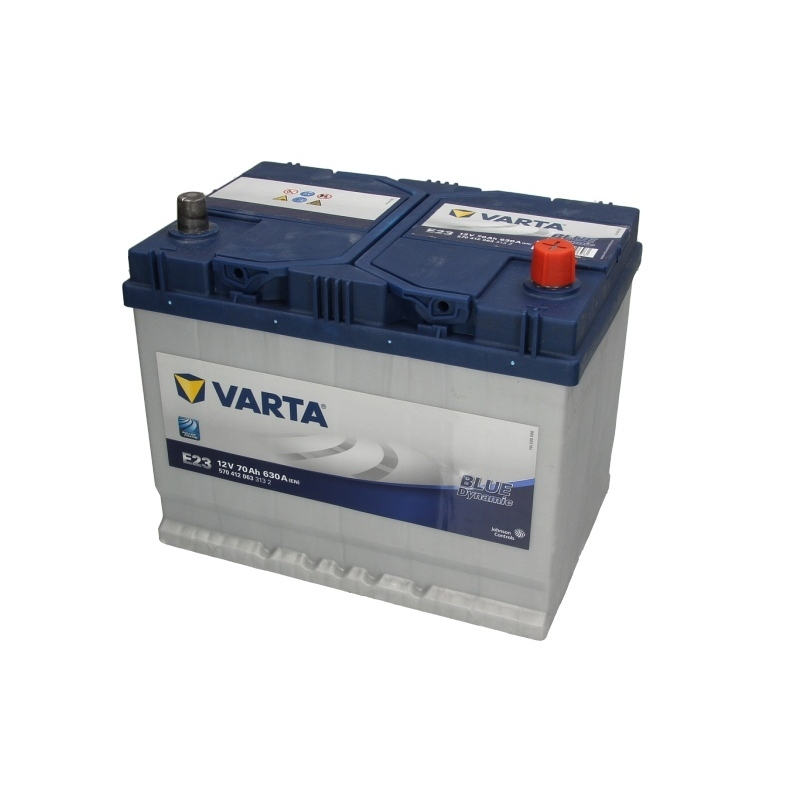 Autobaterie VARTA Blue Dynamic 12V 70Ah 630A, 570 412 063