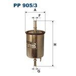 Kraftstofffilter FILTRON PP905/3