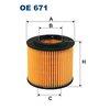 Ölfilter FILTRON OE671