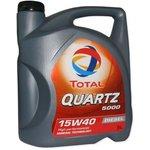 Minerální motorový olej TOTAL QUARTZ 5000 15W40 5L