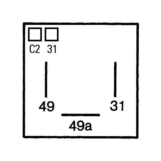 blinkrelais blinkgeber relais beleuchtung alfa romeo. Black Bedroom Furniture Sets. Home Design Ideas