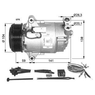 Klimakompressor NRF 32427