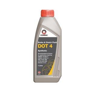 Bremsflüssigkeit DOT 4 COMMA Synthetic, 1 Liter