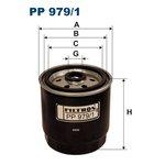Kraftstofffilter FILTRON PP979/1