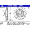 Bremsscheibe, 1 Stück ATE 24.0128-0208.2