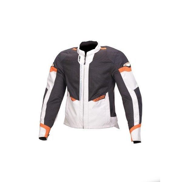 Textiljacke MACNA EVENT orange/hellgrau/schwarz...