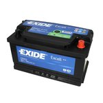 Autobaterie EXIDE Excell 12V 80Ah 700A, EB802