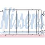 Kühler, Motorkühlung NISSENS 63874