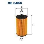 Ölfilter FILTRON OE648/6